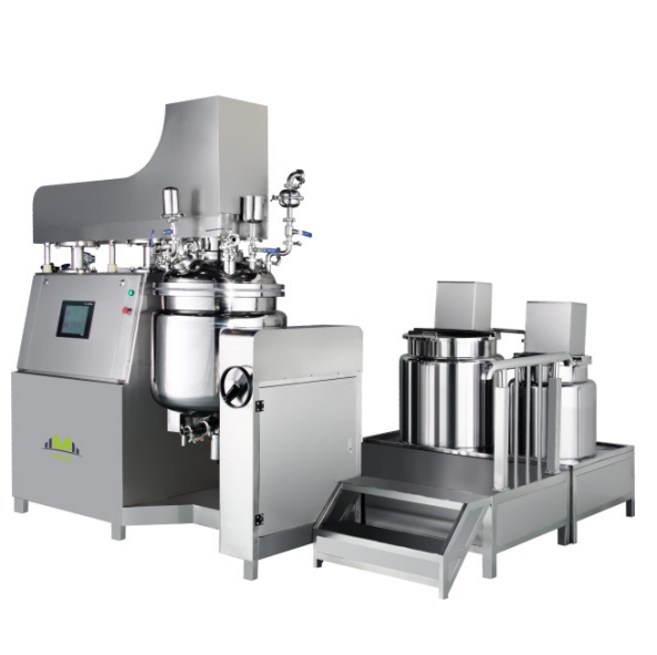 vacuum homogenizing emulsifying mixer machine